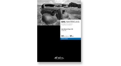 SIHL Masterclass Satin Baryta for Black and White