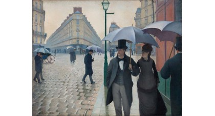 Manufaktur 3 - Paris, an einem Regentag (Rue de Paris, temps de pluie)