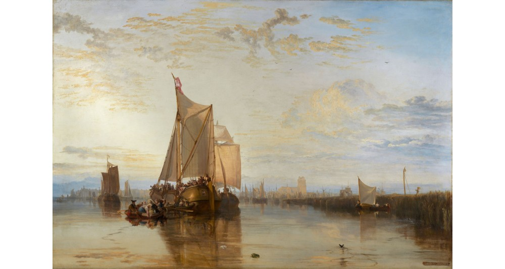 Manufaktur 8 - William Turner: The Dort Packet-Boat from Rotterdam Becalmed