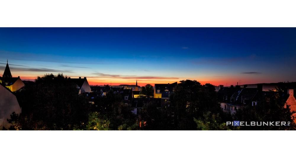 Otto-Böhne-Platz Sonnenaufgang