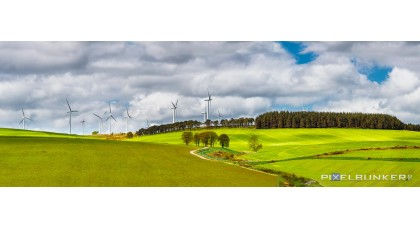 Windmills at Bainshole