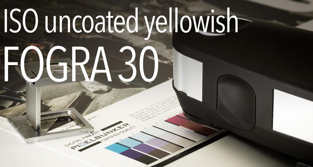 ISO uncoated yellowish