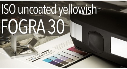 ISO uncoated yellowish