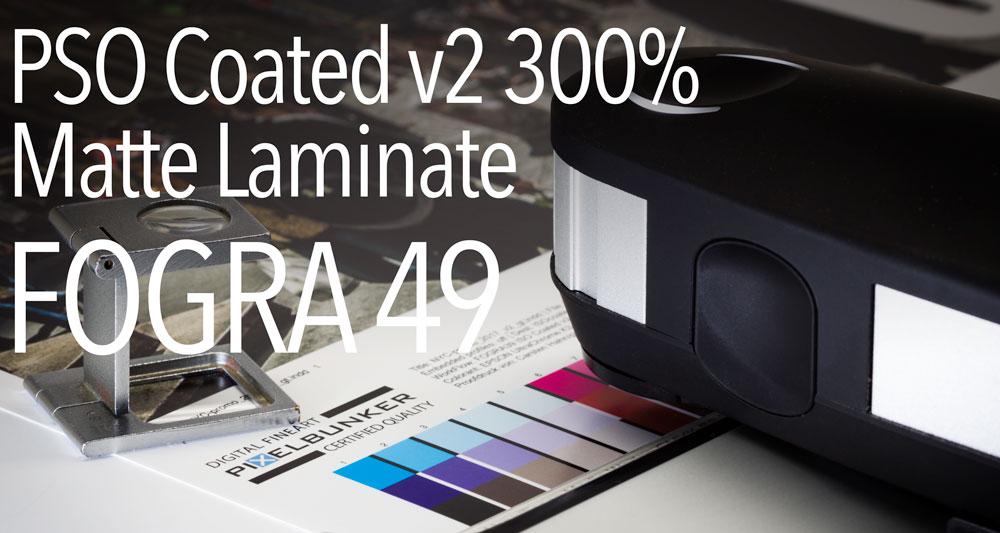 Digitalproof PSO Coated v2 300 Matte Laminat